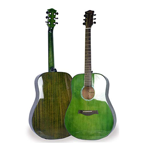 SXJC Guitarra Acústica Guitarra Folk De Madera Guitarra Clásica 41 Pulgadas Instrumentos Musicales De Cuerda Niños Clásica Infantil Madera Natural Estilo Español Clásica