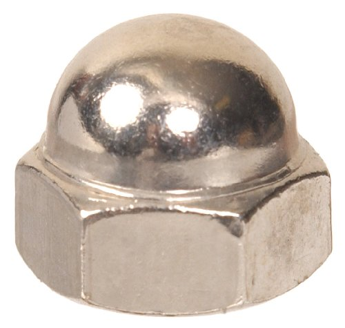 The Hillman Group The Hillman Group 861 Acorn Nut Nickel Finish 10-32 in. 14-Pack