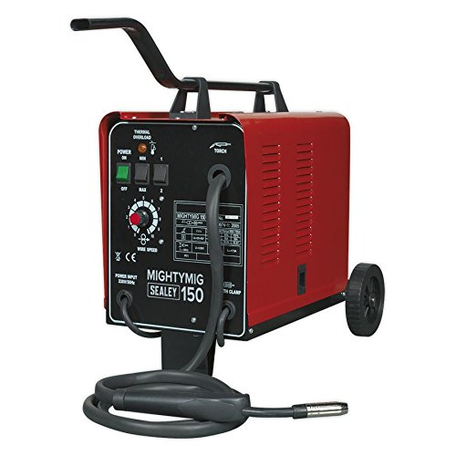 Sealey MIGHTYMIG150 professionelles Gas / nein-Gas mig SchweiàŸer 150amp 230v