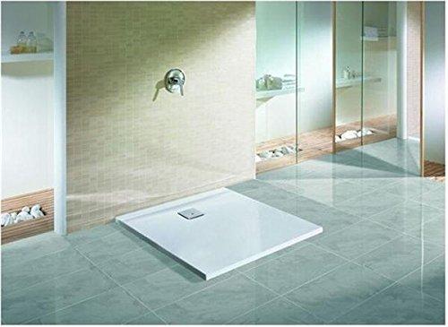 Hoesch THASOS Duschwanne Rechteck 1000 x 900 mm weiß