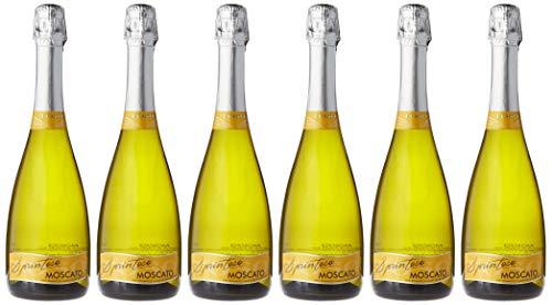 Toso Moscato Spumante Vino Espumoso - Paquete de 6 x 750 ml - Total: 4500 ml