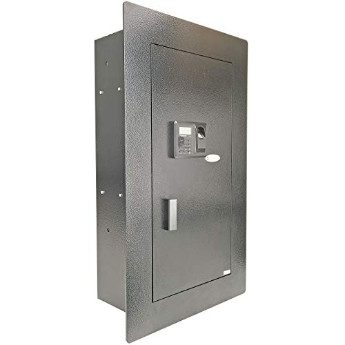 10095-Boomstick In-Wall Mounted Safe w/ Biometric Fingerprint Scanner