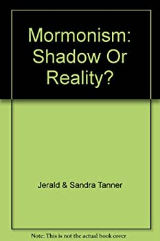Hardcover Mormonism--shadow or reality? Book