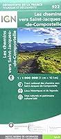 Les Chemins de Saint-Jacques de Compostelle 1:1 000 000