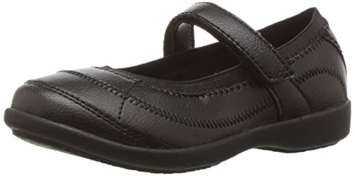 Hush Puppies unisex child Hp-reese Mary Jane Flat, Black, 2 Little Kid US
