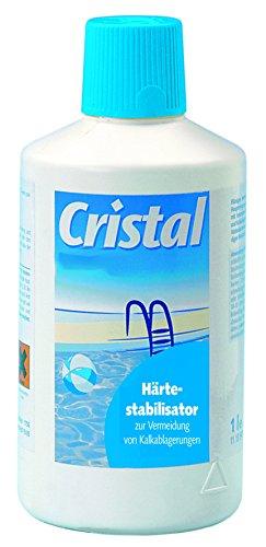 Cristal Härtestabilisator 1,0 l, Verhindert das Ausfällen von Härtebildnern im Wasser