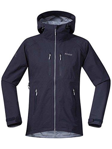 Bergans Herren Eidfjord Jacke, Navy/Solid Grey/Aluminium, L