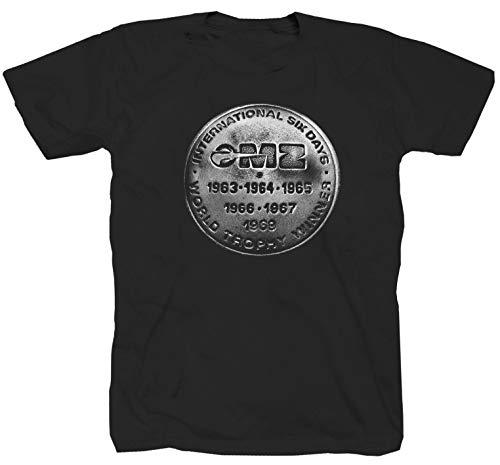 MZ TS ETZ Trophy Simson Motorrad Awo ES Schwalbe RT 125 S51 Enduro T-Shirt Shirt L