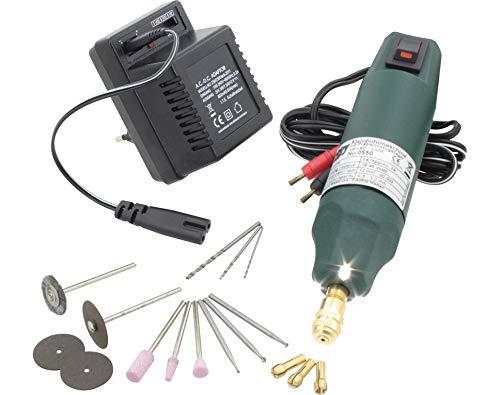 Donau Elektronik 0550V1 - Taladro con iluminación LED,