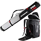Full Padded Ski Bag and Boot Bag Combo Supreme PRO 2.0-190cm (74-3/4 in) - for 1...
