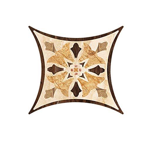 WARBINA Pegatinas diagonales para azulejos, murales de pared, azulejos de suelo, adhesivos para pared, autoadhesivos, resistentes al desgaste, para cocina, sala de estar, escaleras, suelo o pared