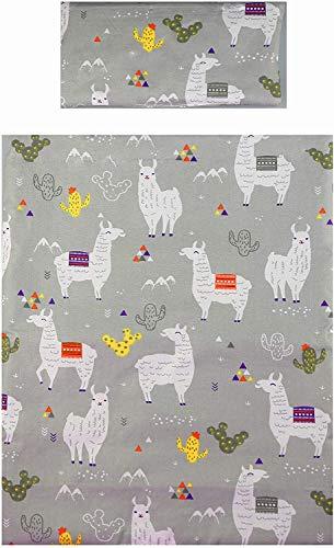 MAMANDU BF00000401 2-tailige Puppenbettwäsche - Lama, mehrfarbig, 150 g