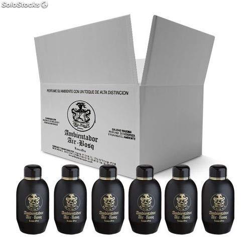 fragancia Ambientadores Air-bosq Alta perfumería (Caja de 6 Botellas de litro) (Bull)