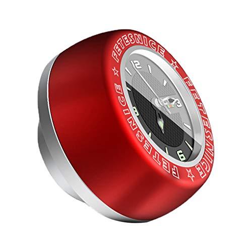 Ruiboury Mountainbike-Kopfhörer-Uhr Fixed Gear Fahrrad Wasserdicht Stem Top Cap Uhr Uhren Zubehör