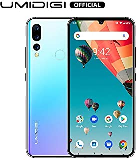 UMIDIGI A5 Pro 6.3'' FHD+ Unlocked Smartphone with Triple Main Camera(16MP+8MP+5MP), 32GB+4GB Ram GSM Cell Phones International Version, Dual 4G LTE, Android 9.0-Blue