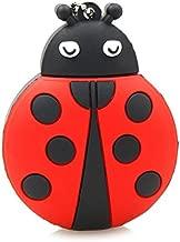 Semoic USB 2.0 Flash Drive Cute Animal Ladybug Shape Pen Drive Memory Stick Thumb Drive Jump Drive Flash Drive Pendrive(4Gb)