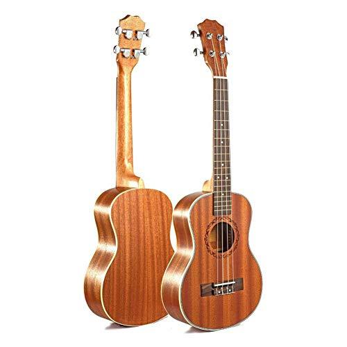 ZGHNAKUkulele-Gitarre Uke Rosewood 4 Strings Hawaiian Guitar Uku Acoustic Guitar Ukelele