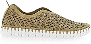 Ilse Jacobsen Tulip Perforated Slip On