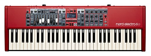 Nord Electro 6D 61 Stage Piano, 61-Note Semi-Weighted Waterfall Keybed