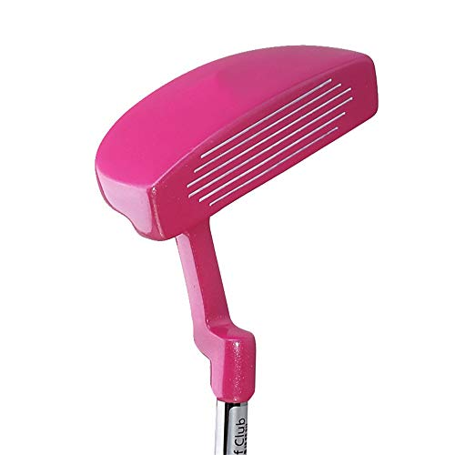Golf Chipper-Club Pink Ladies Golf Putter Kinder Golfschläger Anfänger Übungsstange Rechte Hand Linke Hand Verwendet Golf Übungsschläger Für 3-12 Jahre alte Mädchen Golfhandschuhe für Anfänger und For