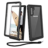 Beeasy Coque Samsung Note 10, Etanche 360 ° Protection Antichoc Robuste Outdoor Antipoussière...