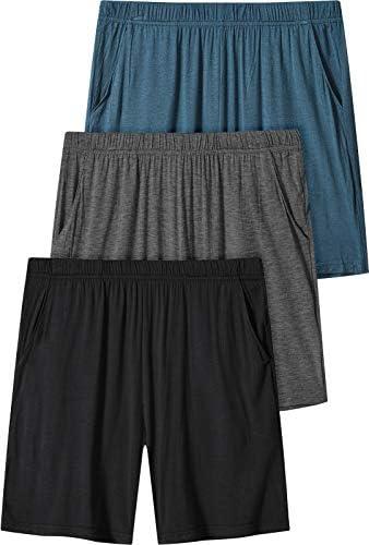 AIRIKE Women s Pajama Shorts Elastic Waisted Lightweight Woven Sleep Shorts Stretch Running product image