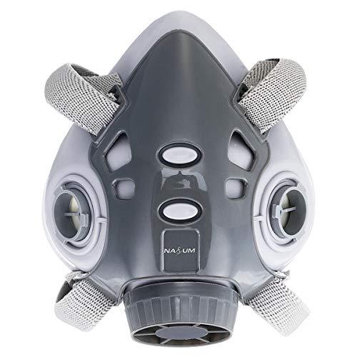 NASUM Halb Gesicht Abdeckung Wiederverwendbare (Abdeckung körper ohne Filter), Für NASUM 308, 1 Stück