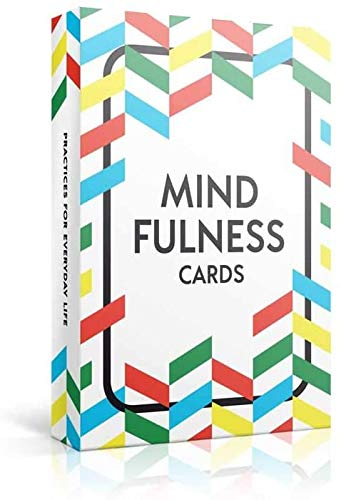 52 Mindfulness Cards - Stress Less, Mindful Meditation, Gratitude, Kindness, Self Care & Relaxation