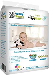 Andy Pandy Biodegradable Bamboo Disposable Diapers