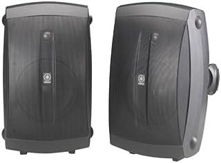 Yamaha interior/exterior de 2Vías altavoces (par), 2 altavoces, Negro, NA