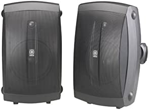 Best Yamaha NS-AW350B All-Weather Indoor/Outdoor 2-Way Speakers - Black (Pair) Review