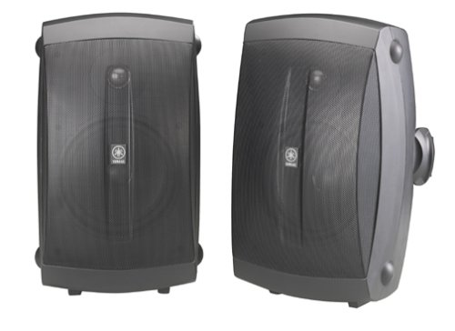 Yamaha NS-AW350B All-Weather Indoor/Outdoor 2-Way Speakers -...
