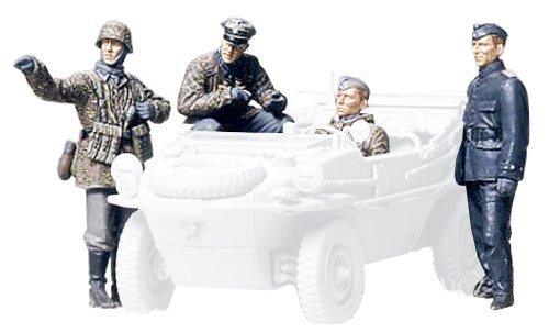 タミヤ 1/35 ミリタリーミニチュアシリーズ No.253 ドイツ陸軍 戦車部隊 前線偵察チーム プラモデル 35253