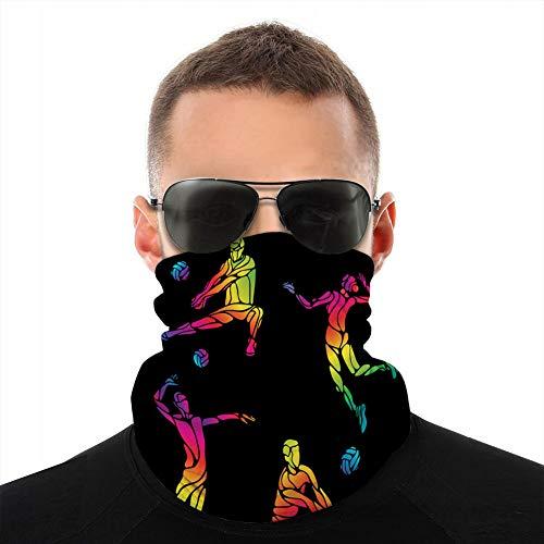 Six Siege Microfiber Neck Good Flexibility Warmer Headbands Bandana Scarf Head Wrap Mask For Winter Outdoor Sports