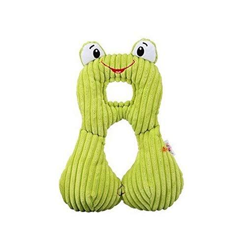 Mignon Animal Forme Bébé Oreiller Protection Du Cou Oreiller For 0-12 Ans Enfants Infant Toddler Safety Seat Oreiller Voyage Accessoires (Color : Frog)