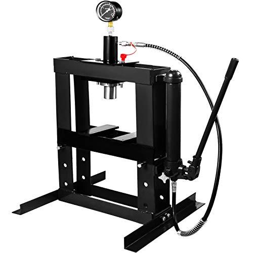 OldFe 10T Hydraulikpresse 350 mm Rahmenpresse 100cm Werkstattpresse Hydraulik Presse Werkzeug