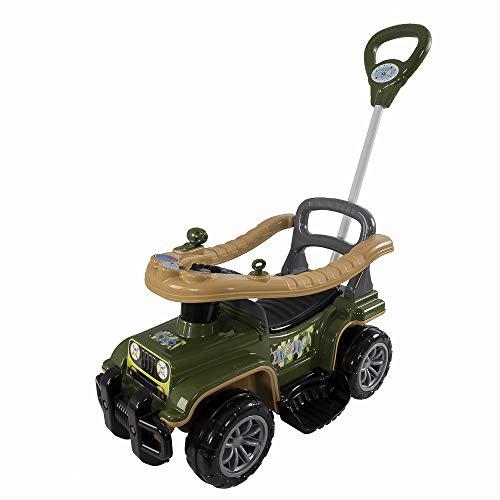 Carrinho com Chassis Jip Jip Militar, Maral, Multicor