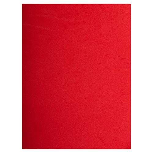 Time 4 Crafts 12-Piece Craft EVA Foam Sheets, 9 x 12 inches, Red