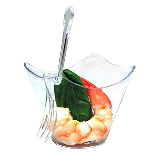 Belix Mini Fourchette Clip spéciale verrine par 100