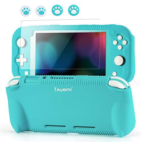 Teyomi - Funda de Silicona para Nintendo Switch Lite con Protector de...