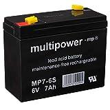Batterie - 6V 7Ah Multipower...