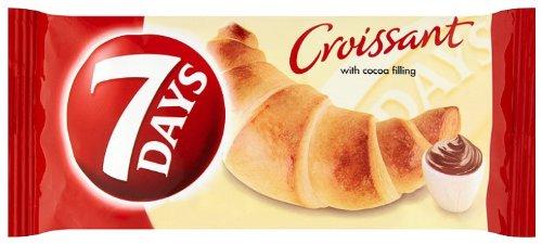 7 Day's Croissant mit Kakao Füllung 60g (Packung mit 30)