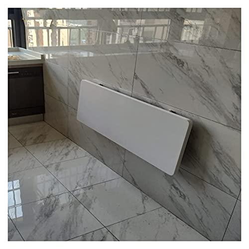 LOUXIAO gute Dinge Wandmontierte Fold-Down-Tabelle Hängen an der Wand Klapptisch ausklappbar Wallentisch Nicht toxisch und geschmacklos starke Lastlager für die Küche Schlafzimmer Schreibtisch (Farbe: