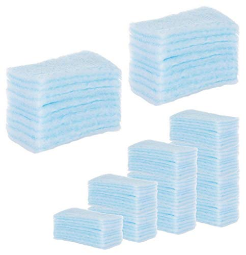 120 ESPONJAS Jabonosas Desechables bebes, niños y adultos - 120 Unidades - Esponja Bebe Piel Sensible - Esponjas Baño con Jabón ph neutro - Pack 5 paquetes de 24 esponjas Annote