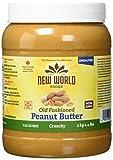 New World Foods Peanut Butter, Unsalted Crunchy, 2 kg