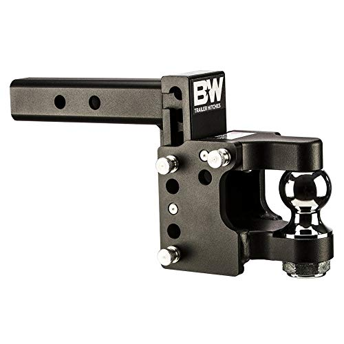 Great Price! B&W Trailer Hitches TS10055 Tow & Stow Dual Ball Size Hitch, 8.5in Drop 4.5in Rise 2x2 ...