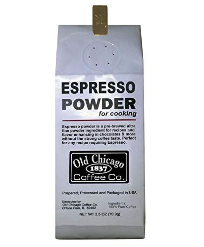 Flour Espresso Powder for Baking, 2.5 Oz