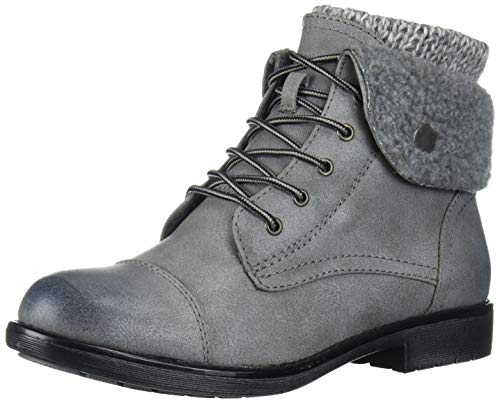 Cliffs by White Mountain Women's Duena Hiking Style Boot, Lt Grey/Burnished/Fab/Fleece, 6 M