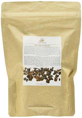 TEA SOUL Ruby Gaba Premium Loose Blatt Oolong Tee von Taiwan, 1er Pack (1 x 250 g)