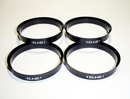 Centradores 4 LLANTA 63.4-60.1 Aros para Llantas DE Aluminio AEZ ATZ BBS...